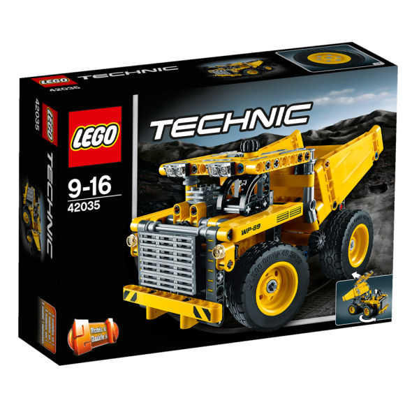 lego technic mining truck 42035 toys. Black Bedroom Furniture Sets. Home Design Ideas