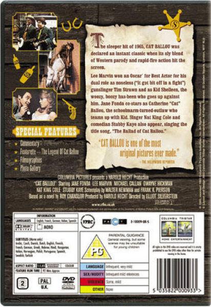 Cat Ballou Dvd Review