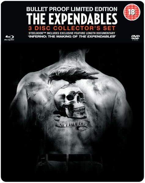 Expendables : Unité spéciale Édition Collector (+ Blu-Ray et DVD)