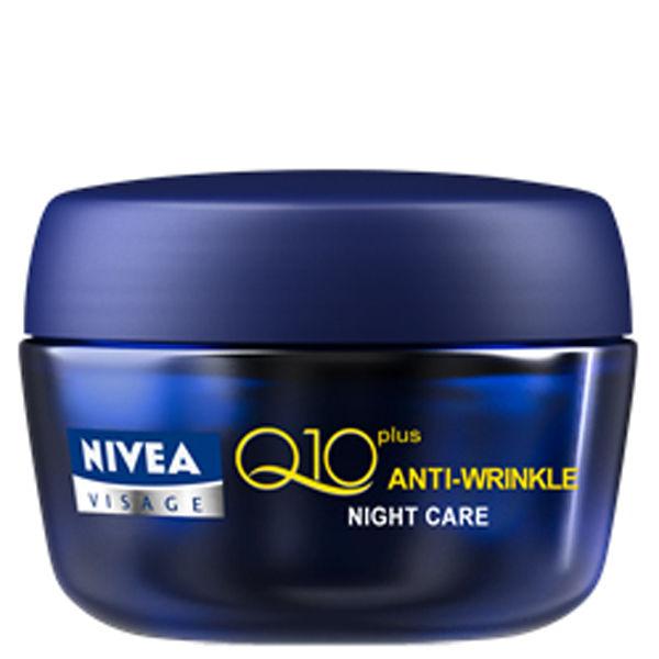 NIVEA VISAGE Q10 PLUS ANTI-WRINKLE NIGHT CREAM (50ML)