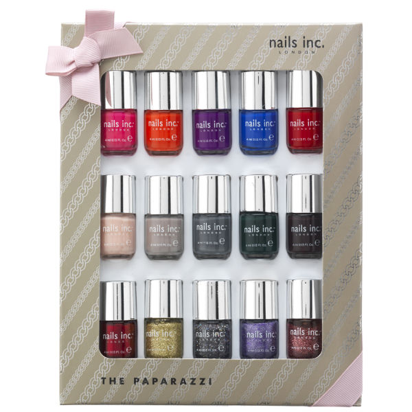 nails inc. The Paparazzi Collection  (15 Products)