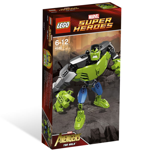 Lego Super Heroes Ultrabuild Hulk 4530 Toys Zavvi Com