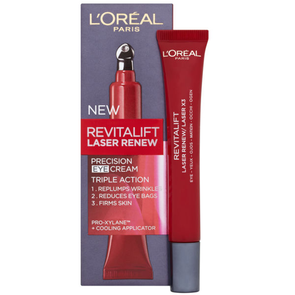Contorno de ojos L'Oreal Paris Dermo Expertise Revitalift Laser Renew - Triple acción (15 ml)