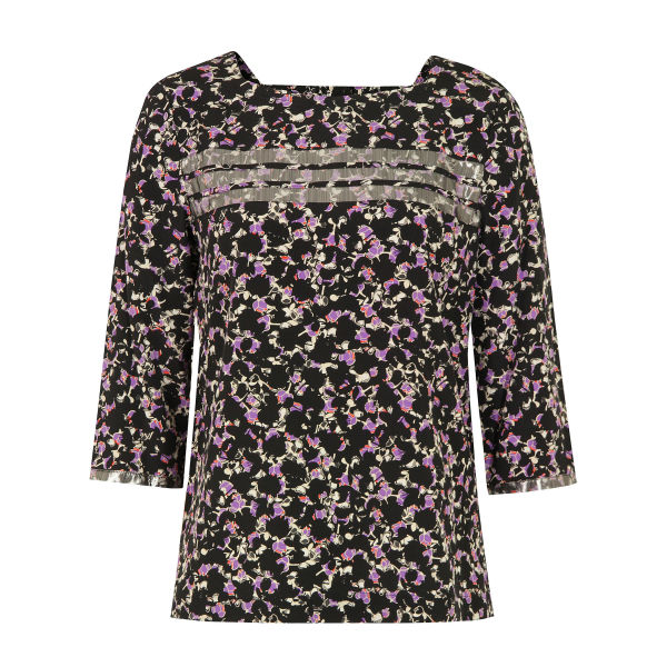 Marc by Marc Jacobs Women's 200 Exeter Print Multi Top - Black