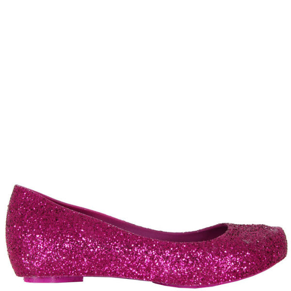 Melissa Women's Ultragirl Glitter Shoes - Fuschia