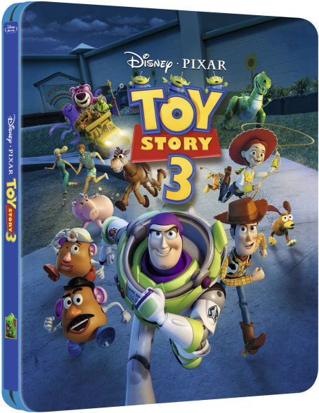 Toy Story 3 - Zavvi Exclusive Limited Edition Steelbook (The Pixar Collection #5) (UK EDITION)