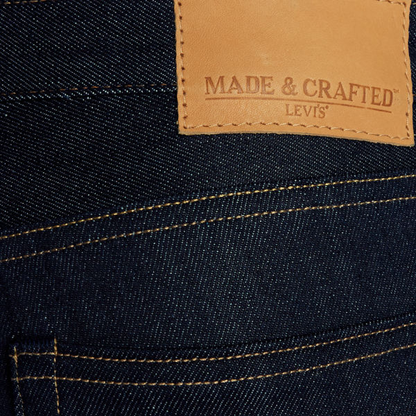 Levi 39 s made crafted men 39 s tack mid rise slim indigo for Levis made and crafted review