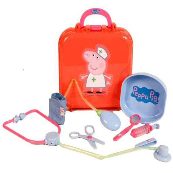 Remote Control Toy Cars Peppa Pig Doctors Case Toys | TheHut.com