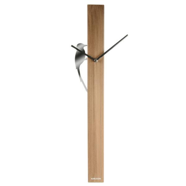 Karlsson Wall Clock Woodpecker Tube Buy Online Mankind