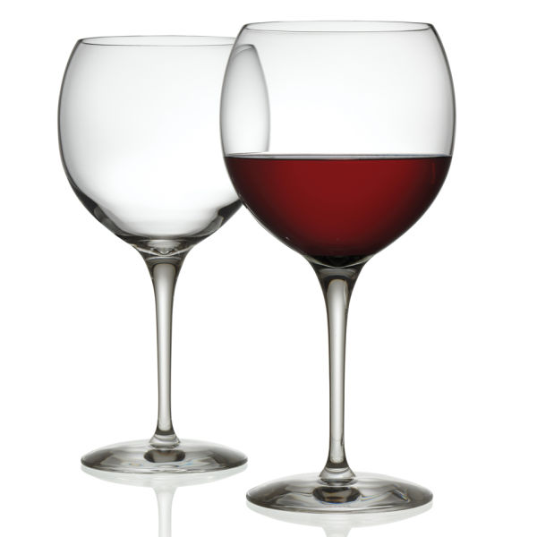 Alessi Mami XL Set of 2 Red Wine Glass
