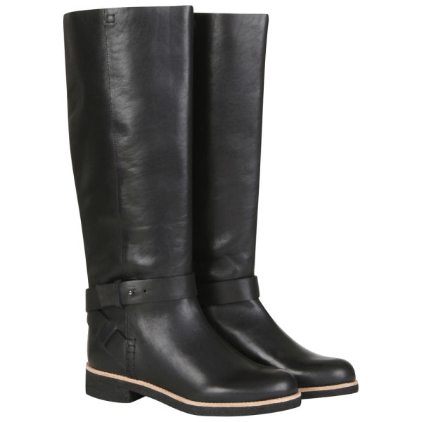 See By Chloé Women's Leather Knee High Boots - Black