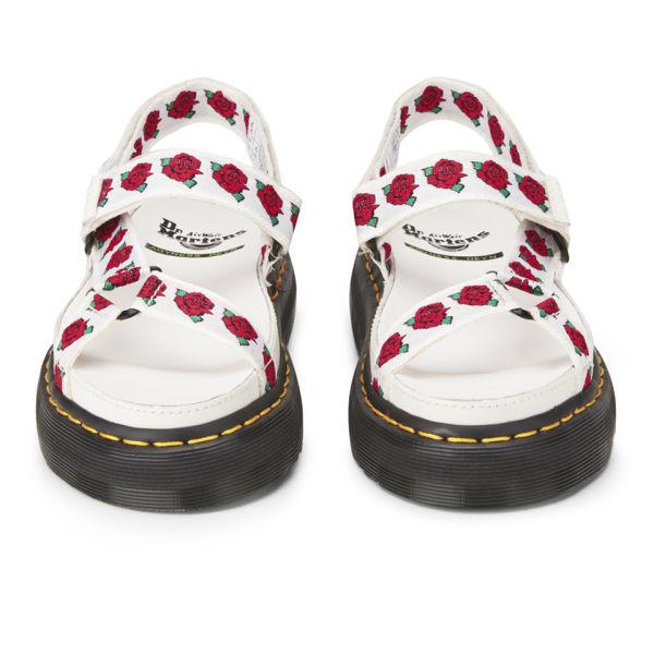 Dr martens x agyness deyn womens leather sandals whiterose dr martens x agyness deyn womens leather sandals whiterose image 4 mightylinksfo