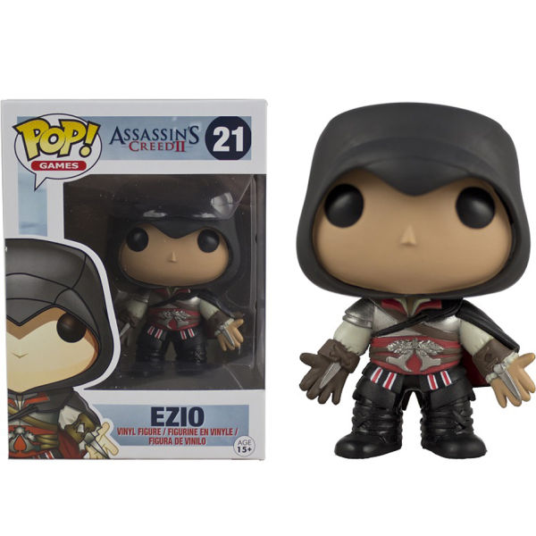 Assassins Creed Black Ezio Pop! Vinyl Figure