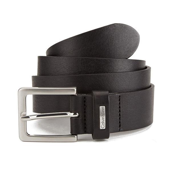 calvin klein men 39 s mino belt black leather clothing. Black Bedroom Furniture Sets. Home Design Ideas
