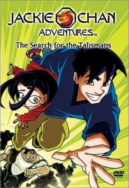 jackie chan adventures series 1 dvd zavvi