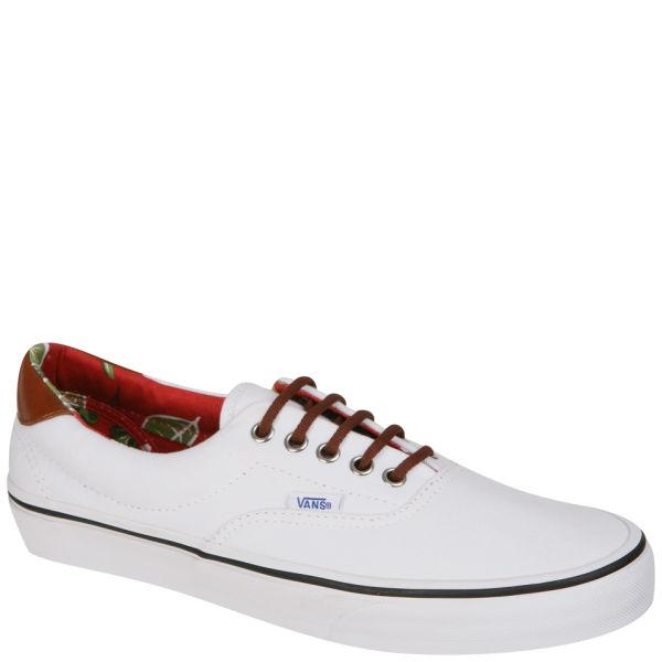 Vans ERA Aloha Canvas & Leather Trainer - True White