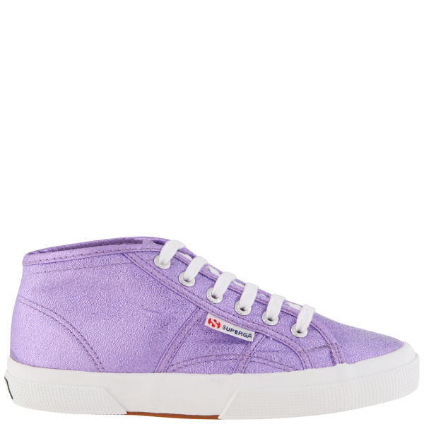 Superga Women's X Rita Ora High Top Trainers - Orchid