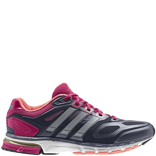 dbdd6c9f5 adidas Women s Supernova Sequence 6 Running Shoe - Urban Sky Metalic  Silver Blast Pink
