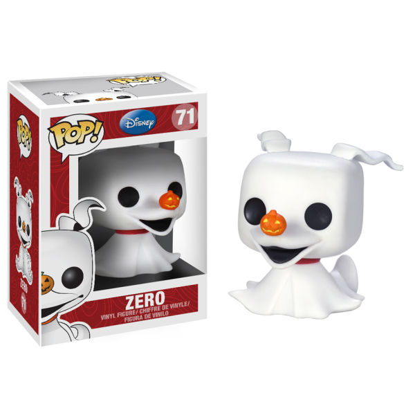 Disney Nightmare Before Christmas Zero Ghost Dog Pop! Vinyl Figure