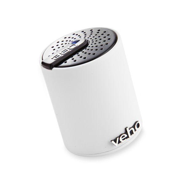 Veho Portable 360 Bluetooth Speaker - White