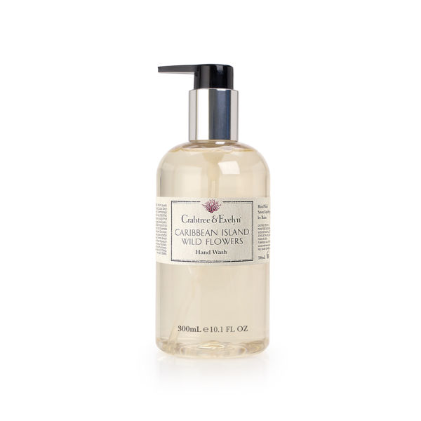 Crabtree & Evelyn Caribbean Island Wild Flowers Hand Wash (300 ml)