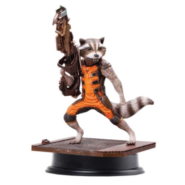 Statuette Rocket Raccoon Les Gardiens de la Galaxie Vignette 1/9