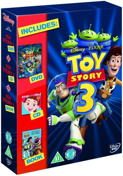 Toy Story 3 Gift Set Includes Book And Cd Dvd Zavvi