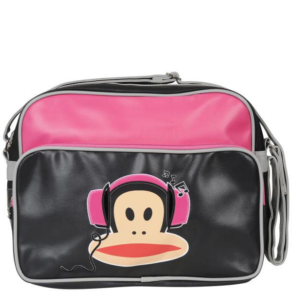 a0994302d Paul Frank Headphones Messenger Bag - Fuschia Black Womens ...