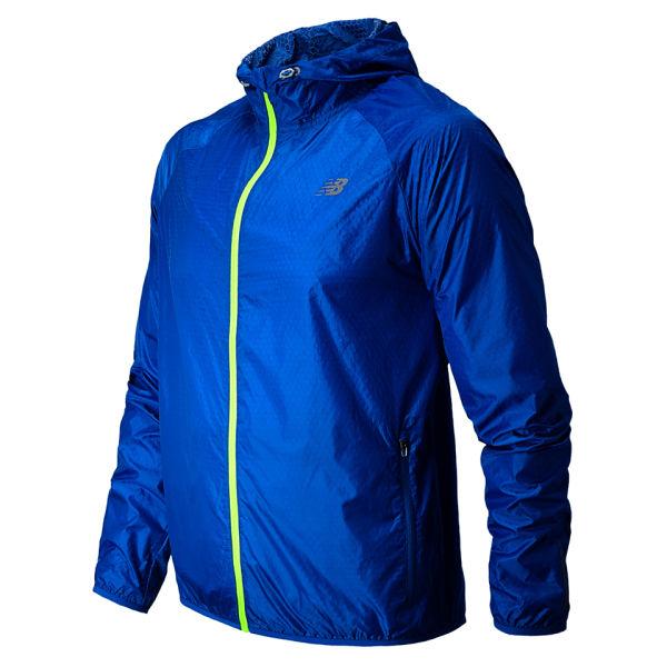new balance blue running jacket