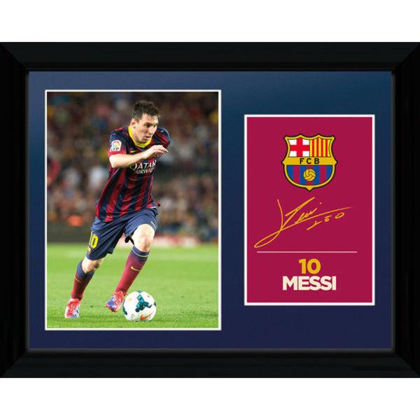 Barcelona Messi 13/14 - Collector Print - 30 x 40cm