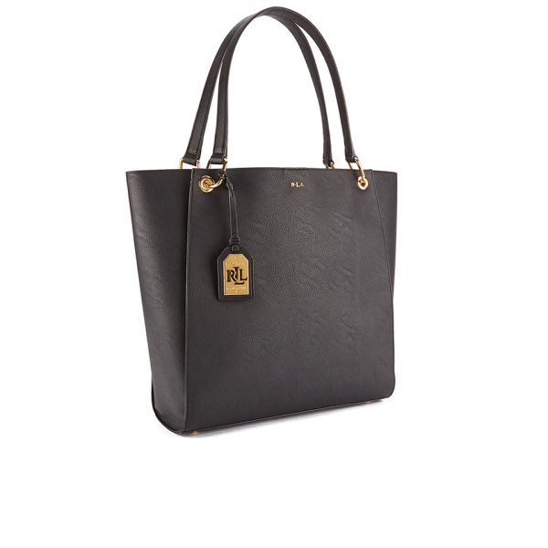 Lauren Ralph Women S Aiden Tote Bag Black Image 2