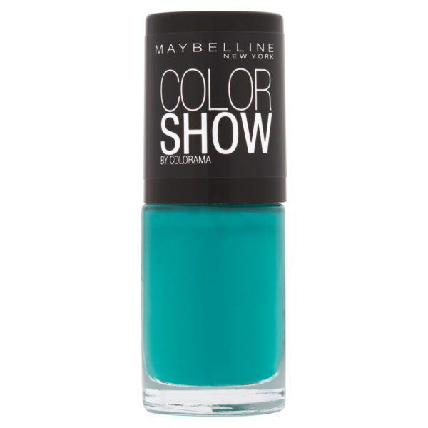 Maybelline New York Color Show Nail Lacquer 120 Urban Turquoise 7ml Image 1