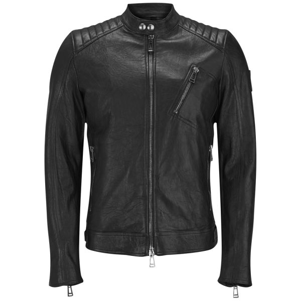 Belstaff Men's K Racer Leather Blouson Jacket - Black