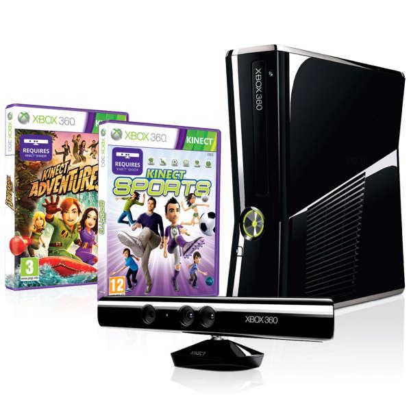 Xbox 360 250GB Bundle (Includes Kinect Sensor, Kinect