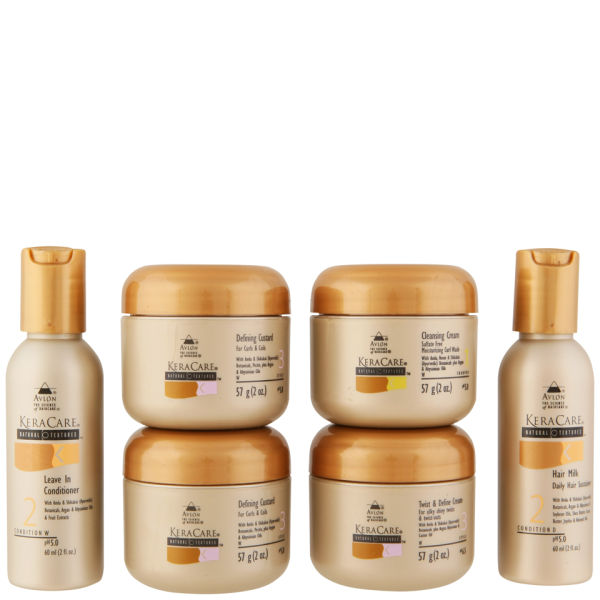 Keracare Natural Textures Travel Set 6 Products Free