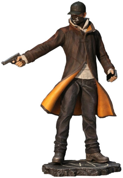 Watch Dogs Aiden Pearce Statue