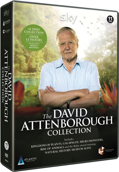 The David Attenborough Collection Dvd