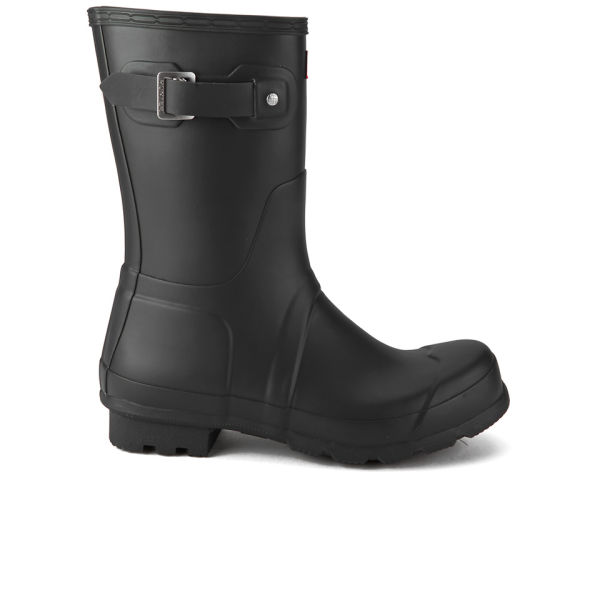 Hunter Men's Original Short Wellies - Black