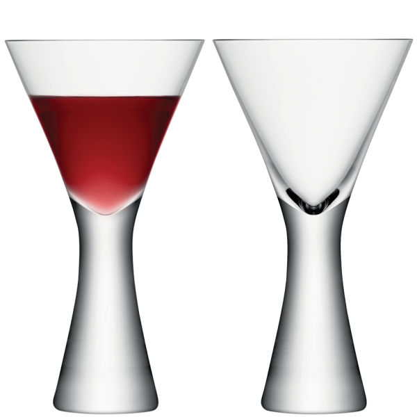 LSA Moya Wine Glass - Clear - Set of 2