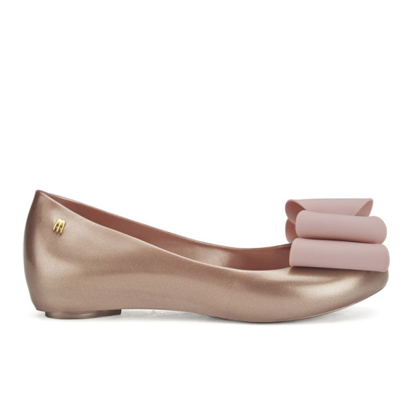 494a39650a4 Melissa Women s Ultragirl Bow Ballet Flats - Blush Luster Clothing ...