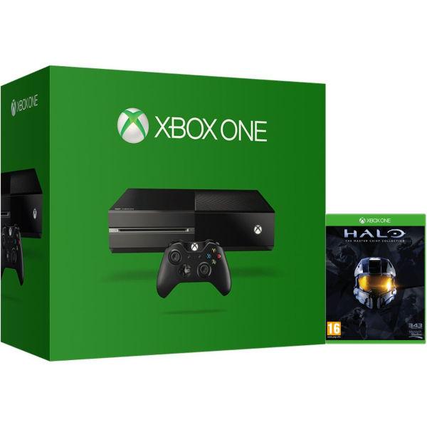 Xbox one console includes halo masterchief edition games consoles zavvi - Xbox one console day one edition ...