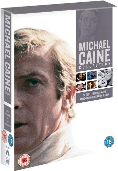 Michael Caine Collection Dvd Zavvi