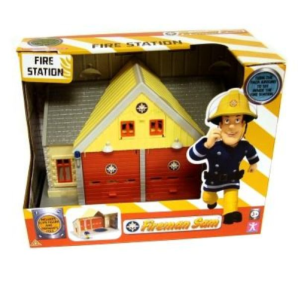 Fireman Sam Mini Playset With Figure Fire Station Iwoot