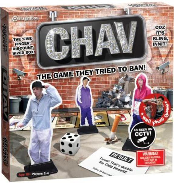 Chav Board Game Toys Thehut Com