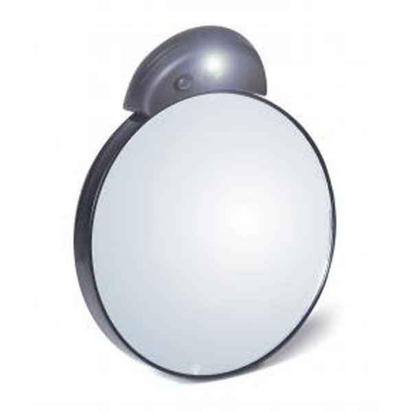 Tweezerman Tweezermate Lighted Mirror 10x Free Shipping