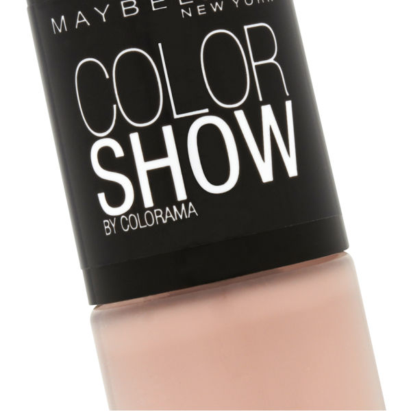 maybelline new york color show nail lacquer 254 latte 7ml image 3 - Vernis Color Show