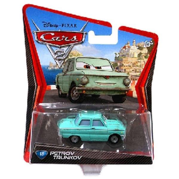 Cars 2 Character Pack Petrov Trunkov Toys Thehut Com