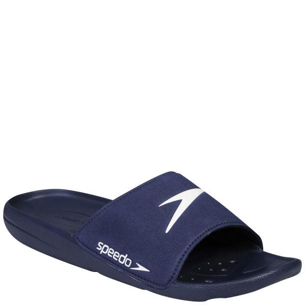 Speedo Men's Core Slide Shoes - Navy/White