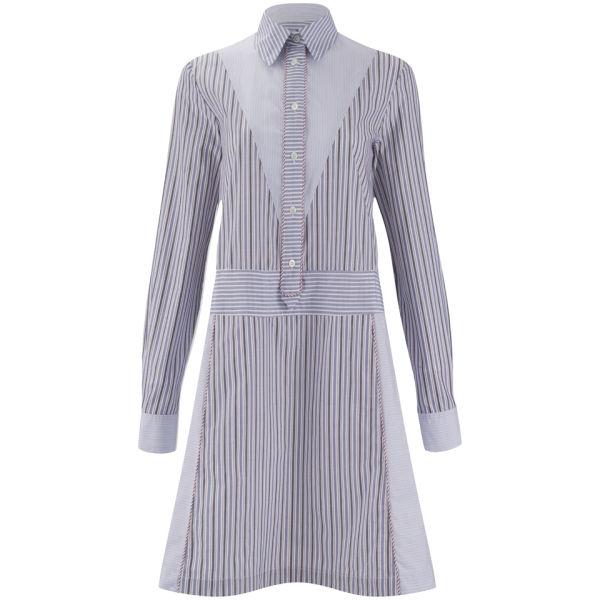 See By Chloé Women's Shirt Striped Dress - Multi