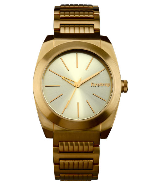 firetrap alpha gold plated chunky link gold